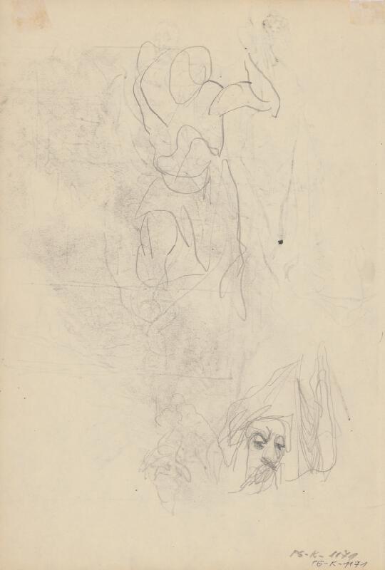 Ján Novák - Štúdia k ilustráciám V. č.31