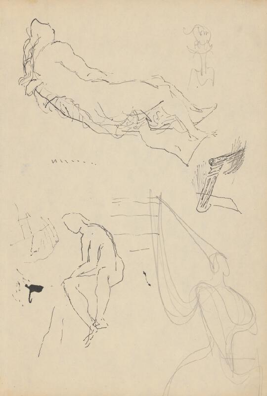 Ján Novák - Štúdiová kresba 5 č.39