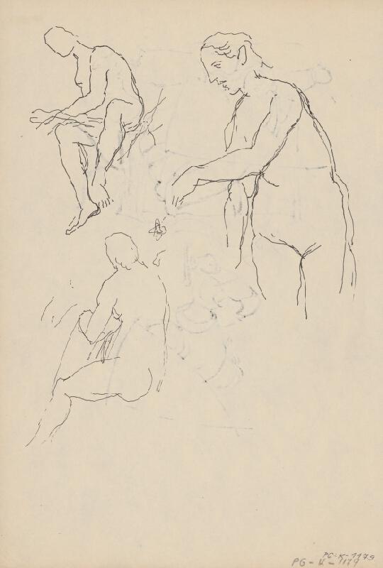 Ján Novák - Štúdia k ilustráciám IV. č.30