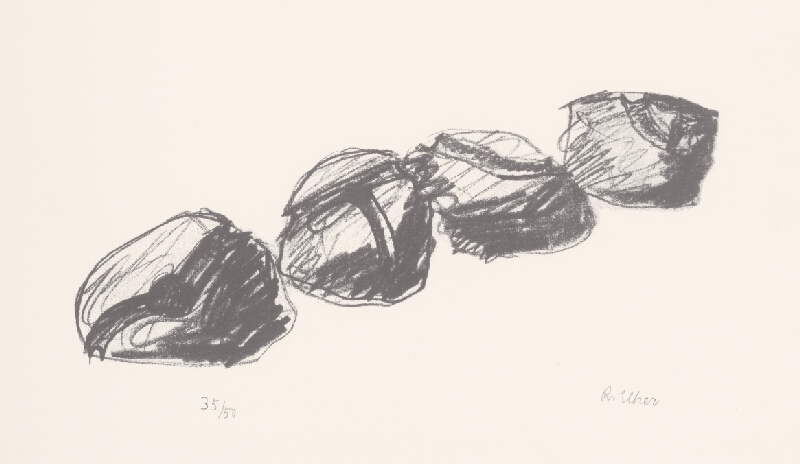 Rudolf Uher - Štyri keramické segmenty