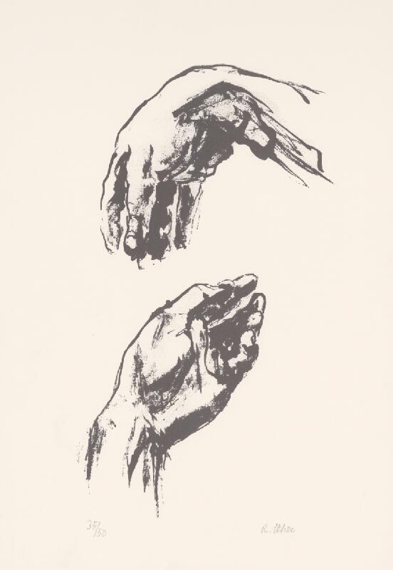Rudolf Uher - Štúdia rúk