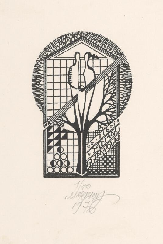 Mykola Černyš - Ex libris Tatiany Hulenyovej
