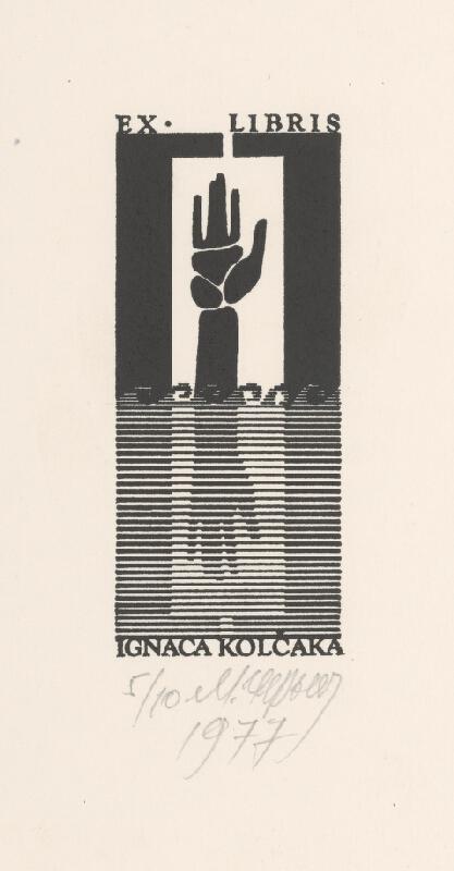 Mykola Černyš - Ex libris Ignáca Kolčáka