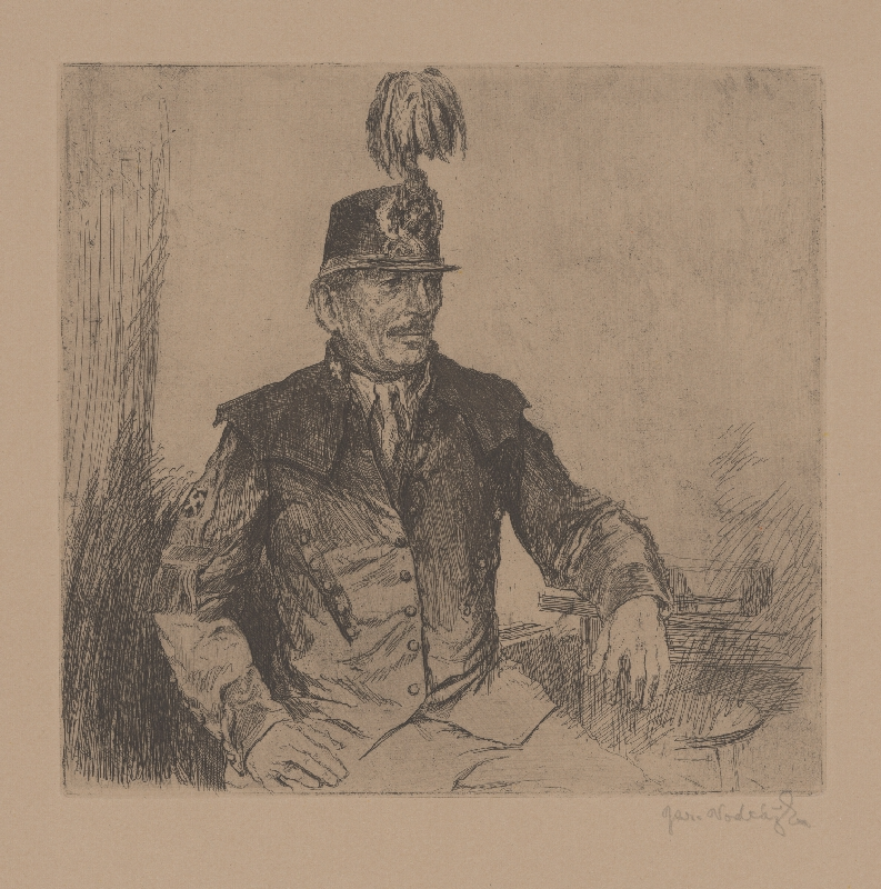 Jaroslav Vodrážka - V uniforme