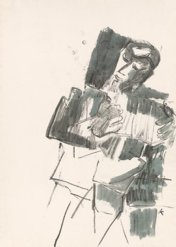 Jozef Kostka - Harmonikár