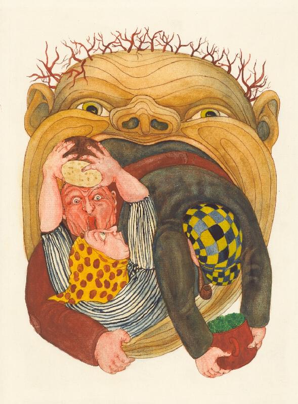 Miluše Oravcová - Ilustrácie k B. Němcovej