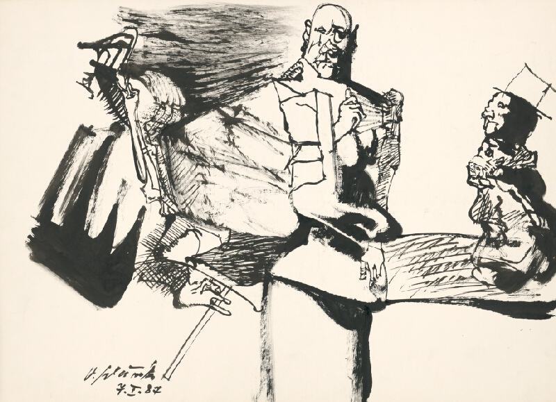 Vincent Hložník - Kresba