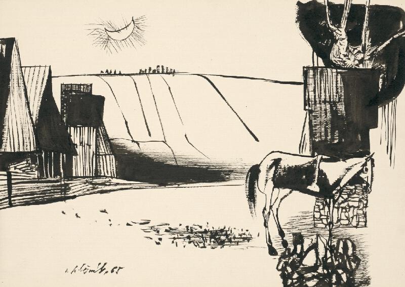 Vincent Hložník - Kresba IX.