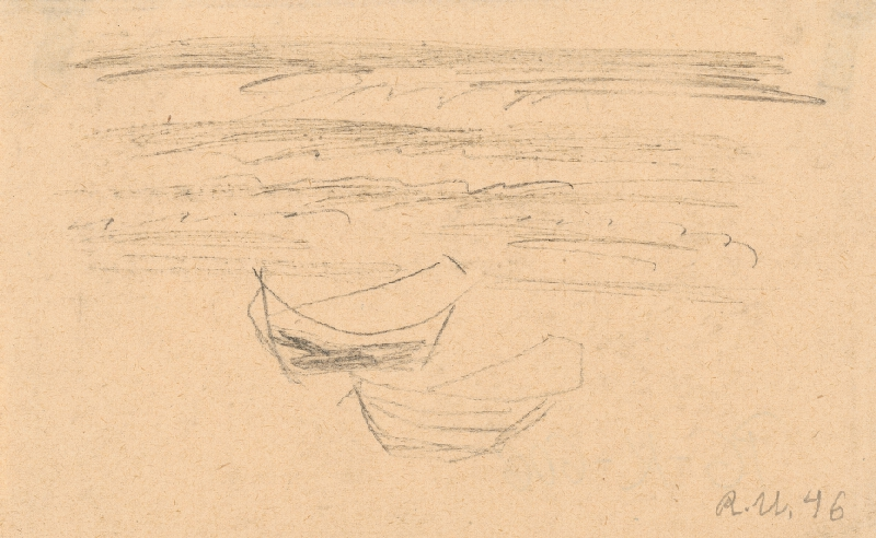 Rudolf Uher - Loďky v Normandii