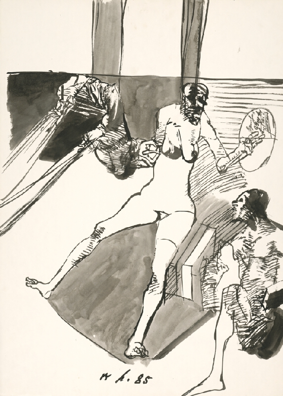 Vincent Hložník - Kresba (85) II.