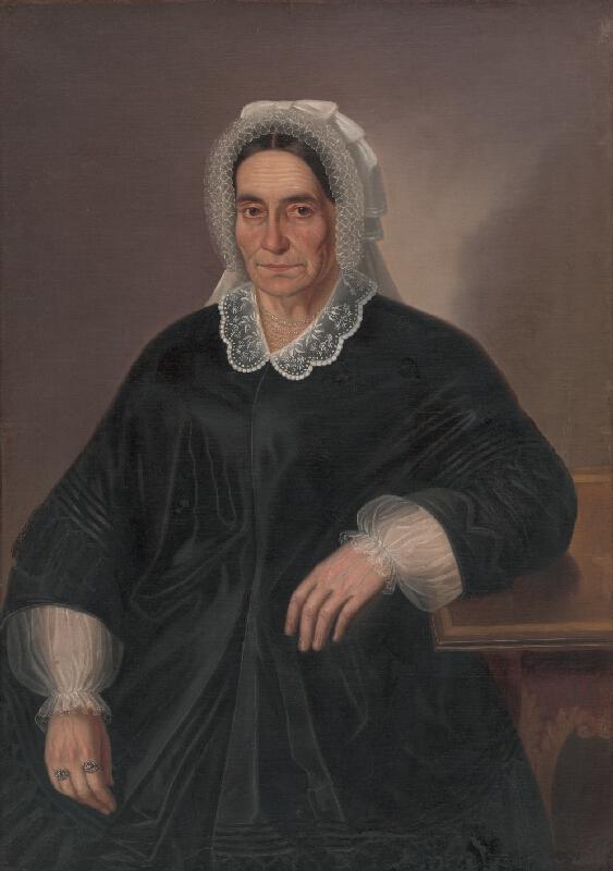 Peter Michal Bohúň - Portrét starej ženy