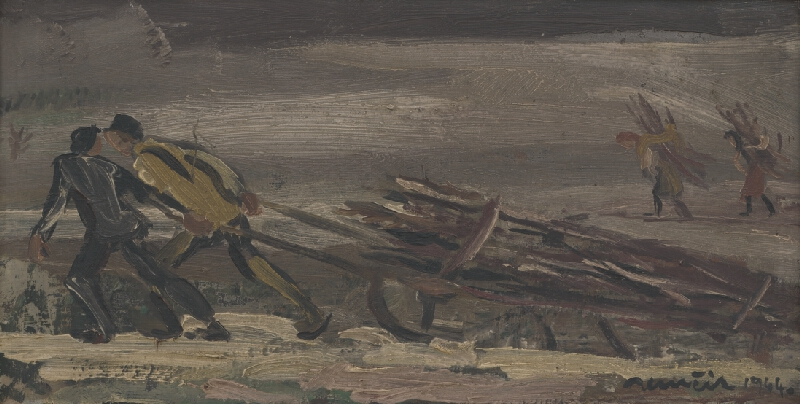 Július Nemčík - Zvoz dreva