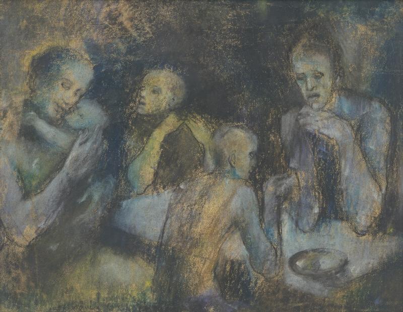 Vincent Hložník - Večera chudobných