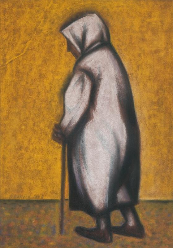 Andrej Barčík - Stará žena