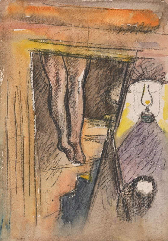 Imrich Weiner-Kráľ - Štúdia k obrazu