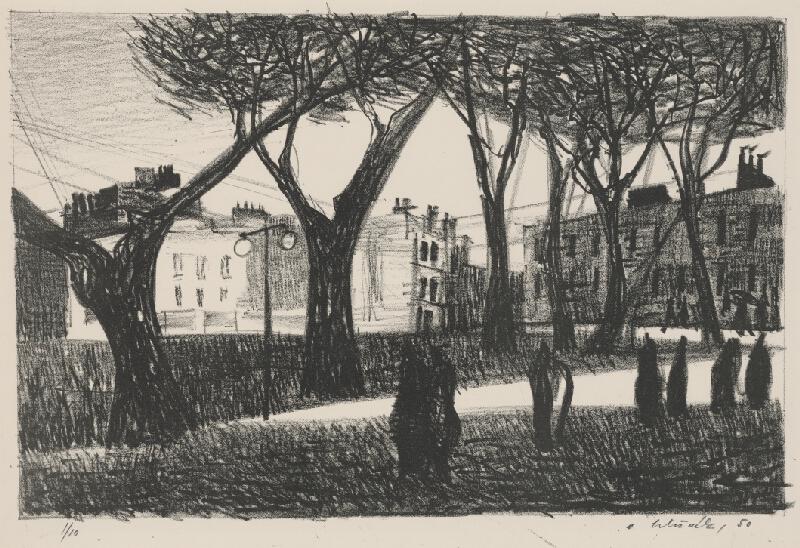 Vincent Hložník - Park a domy