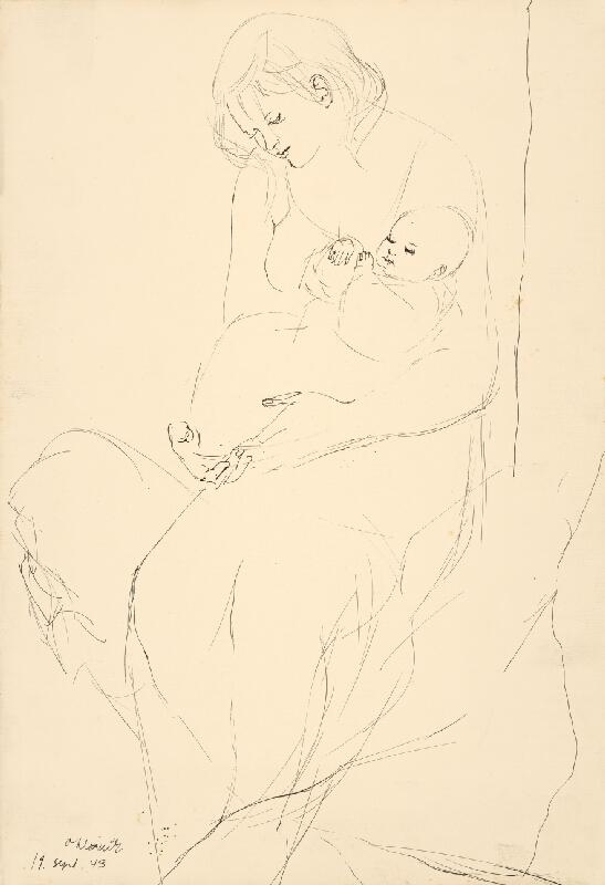 Vincent Hložník - Matka s dieťaťom