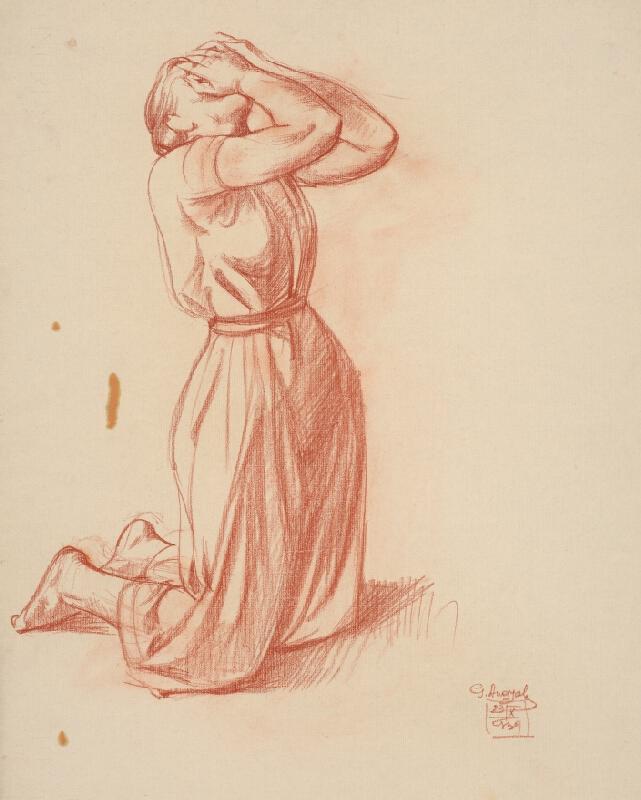 Gejza Angyal - Zúfalá žena I.