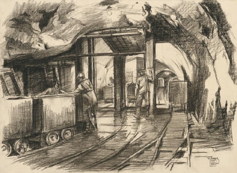 Gejza Angyal - Vchod do bane
