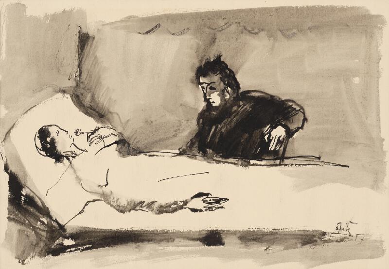 Ernest Špitz - Návšteva u nemocnej