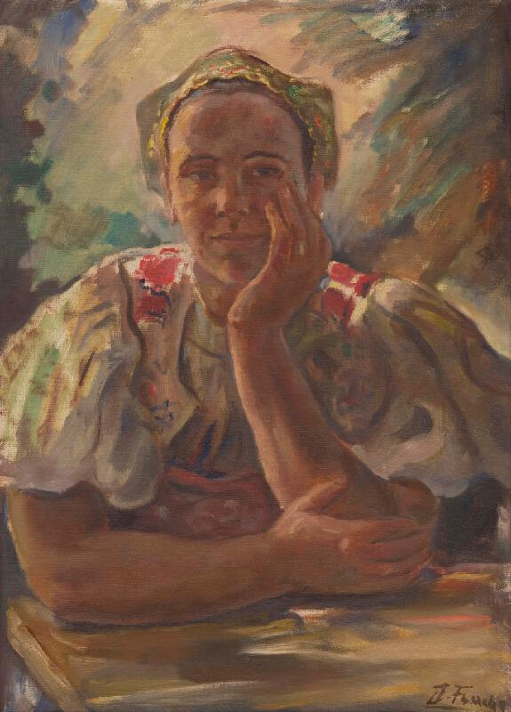 Július Flache - Žena z Môlče
