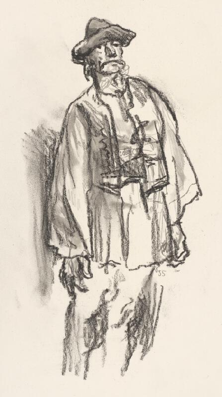 Jaroslav Vodrážka - Figurálna štúdia III.