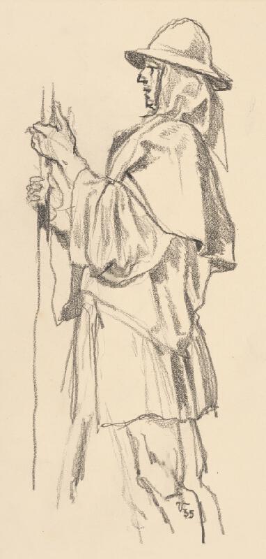 Jaroslav Vodrážka - Figurálna štúdia IV.