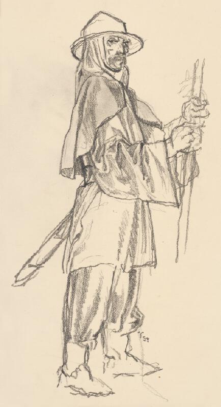 Jaroslav Vodrážka - Figurálna štúdia VIII.