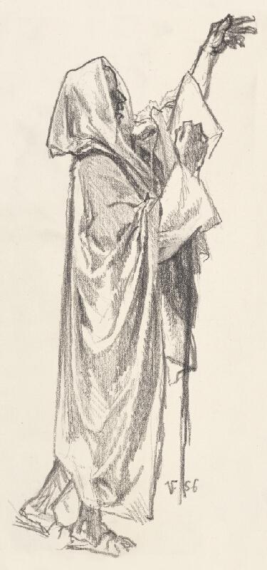 Jaroslav Vodrážka - Figurálna štúdia X.