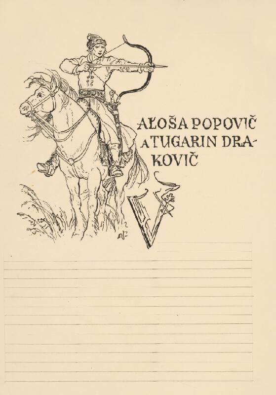 Jaroslav Vodrážka - Aľoša Popovič a Tugarin Drakovič I.