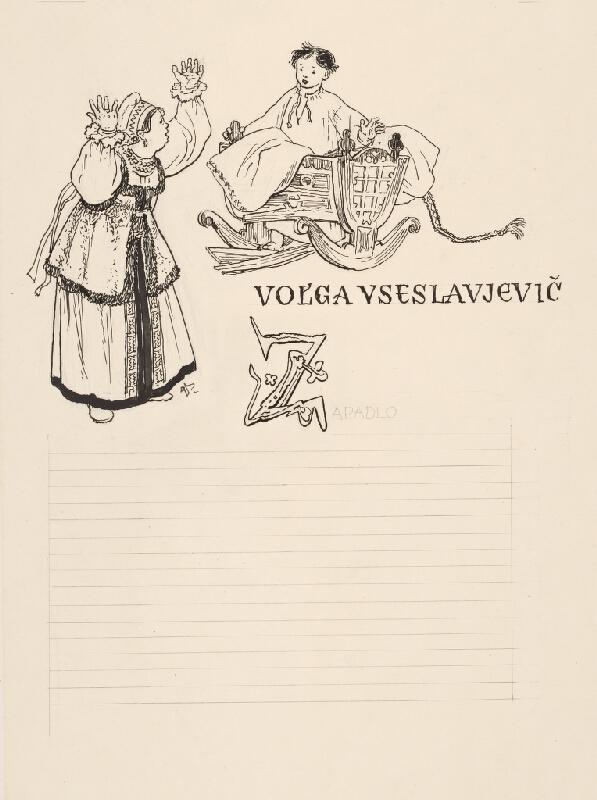 Jaroslav Vodrážka - Volga Vseslavjevič I.