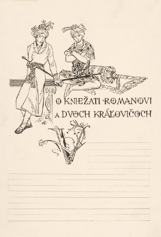 Jaroslav Vodrážka - O kniežati Romanovi a dvoch kráľovičoch I.