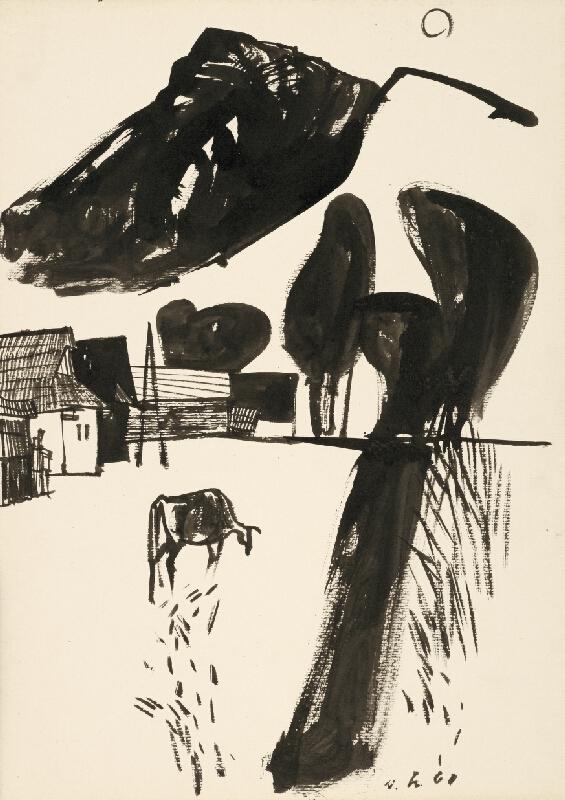 Vincent Hložník - Kresba VIII.