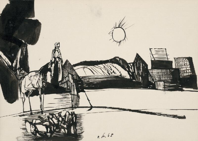 Vincent Hložník - Kresba XIII.