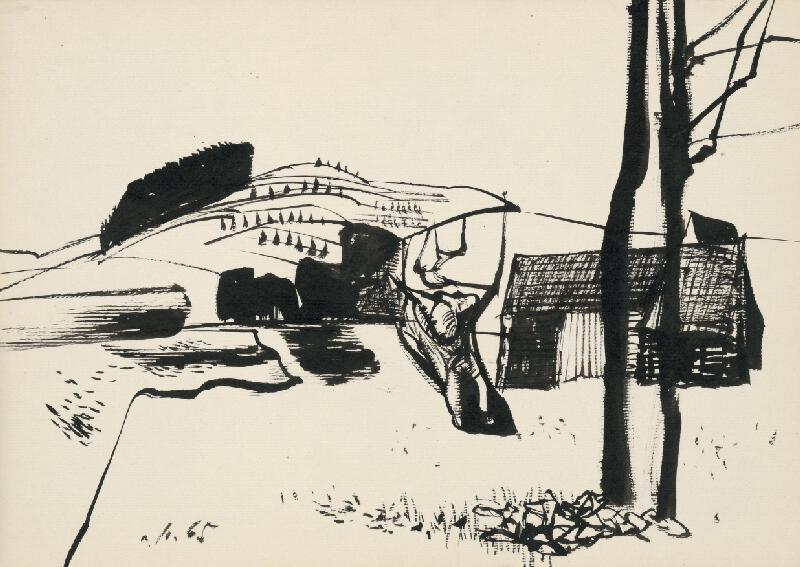 Vincent Hložník - Kresba XIV.