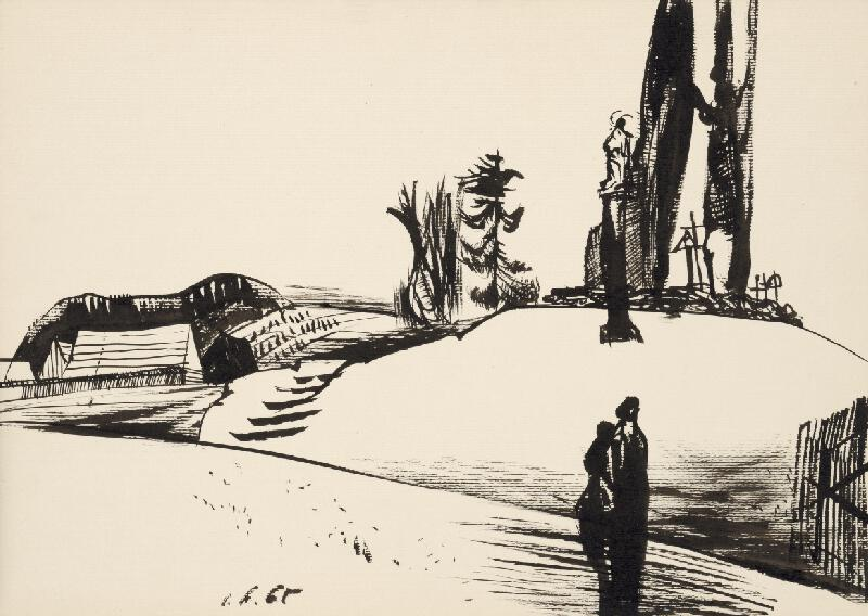 Vincent Hložník - Kresba XV.