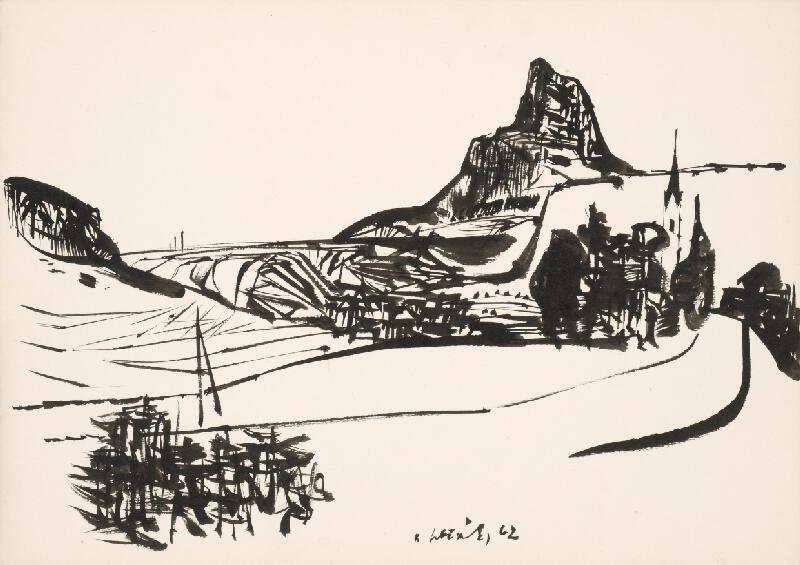Vincent Hložník - Kresba XVII.