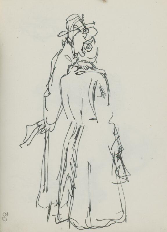 Jaroslav Vodrážka - Kresba č. 30