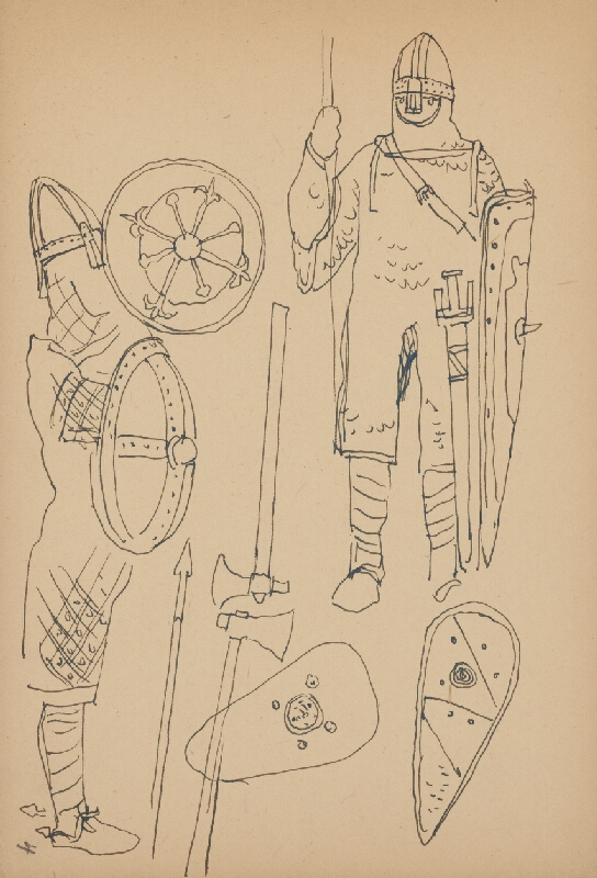 Jaroslav Vodrážka - Kresba č. 4