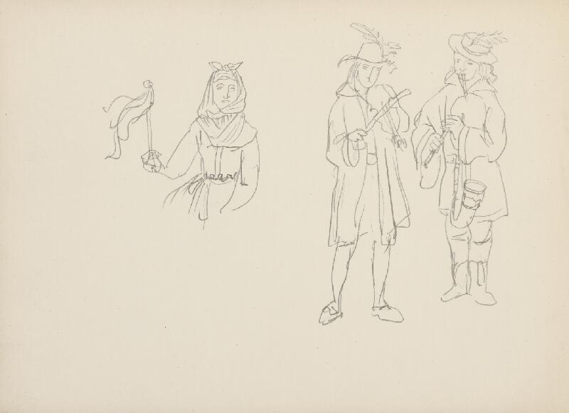 Jaroslav Vodrážka - Kresba č. 11 - Rabí