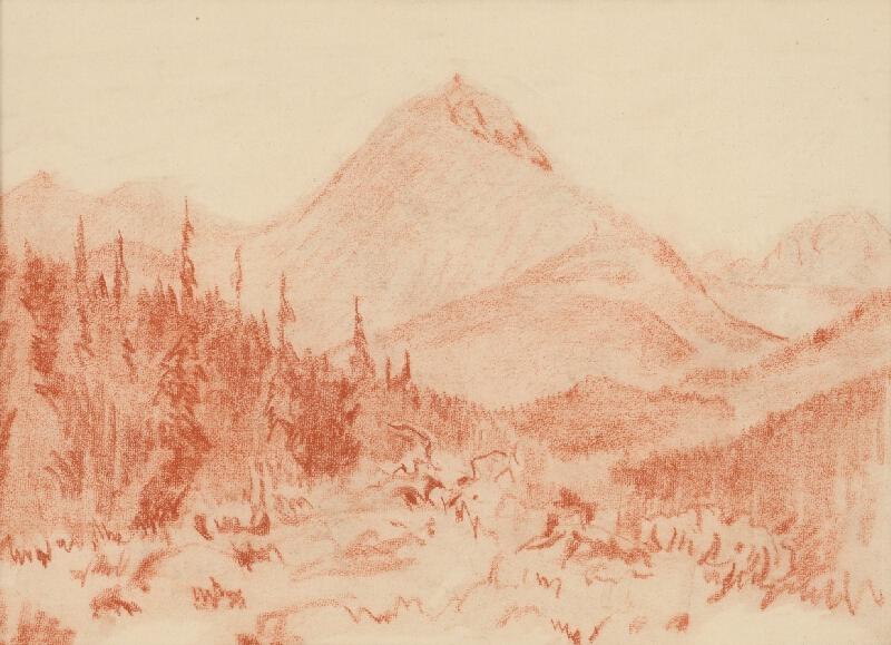 Edmund Gwerk - Vysokohorská krajina