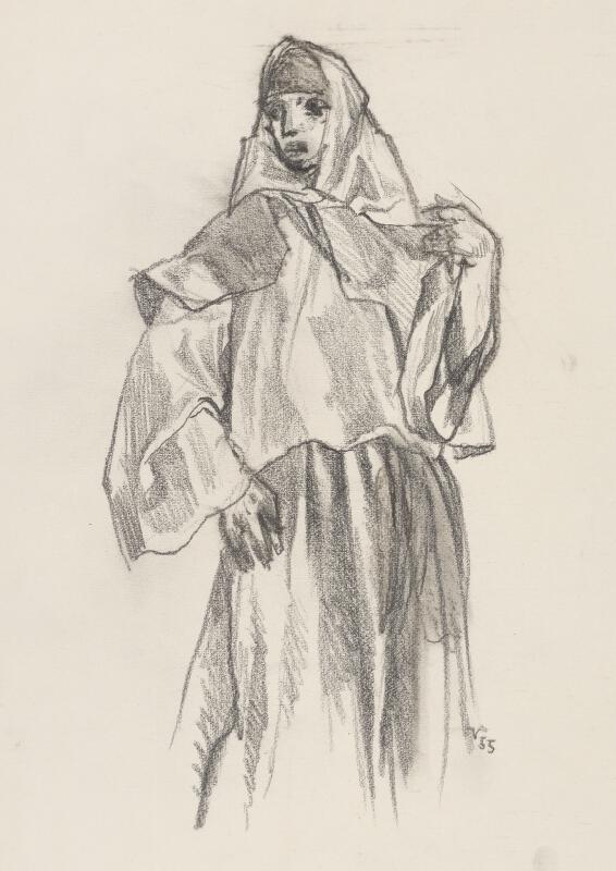 Jaroslav Vodrážka - Žena v šatke