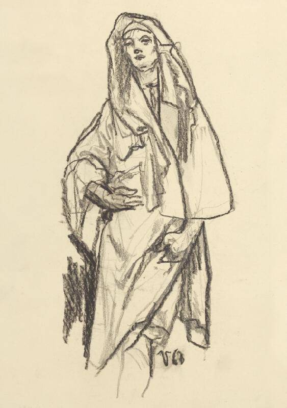 Jaroslav Vodrážka - Žena v rúške