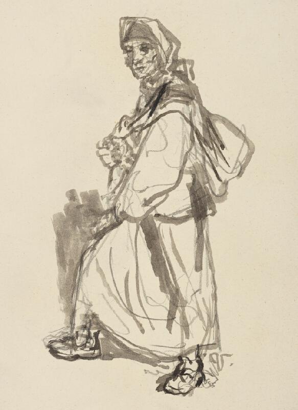 Jaroslav Vodrážka - Žena s nošou