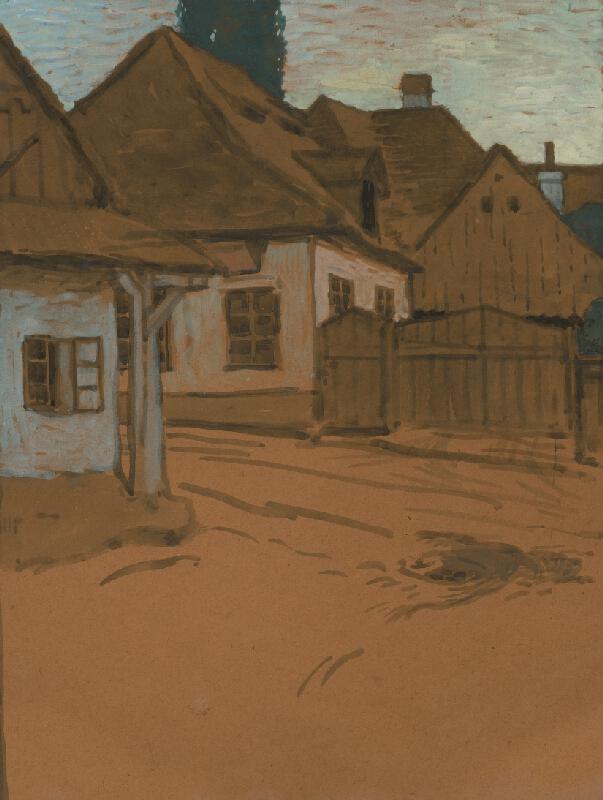 Koloman Tichy - Ulička