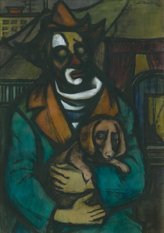 Emil Bačík - Klaun so psom