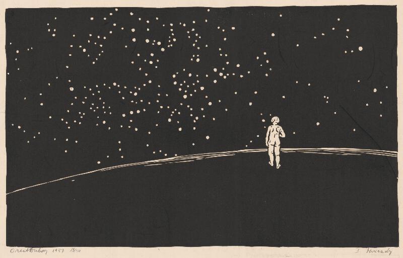 Orest Dubay – Hviezdy, 1957, Stredoslovenská galéria