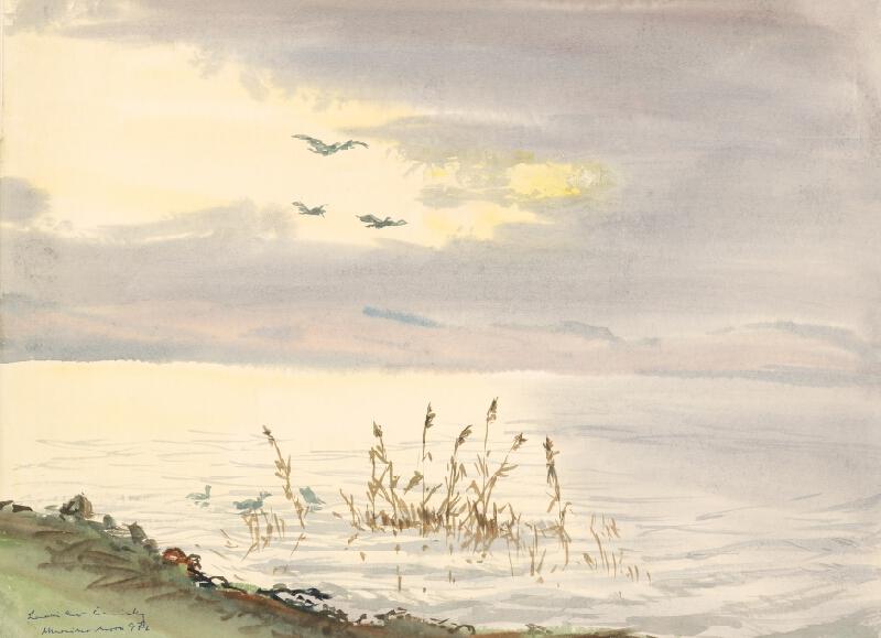 Ladislav Čemický – Marino more I., 1976, Stredoslovenská galéria
