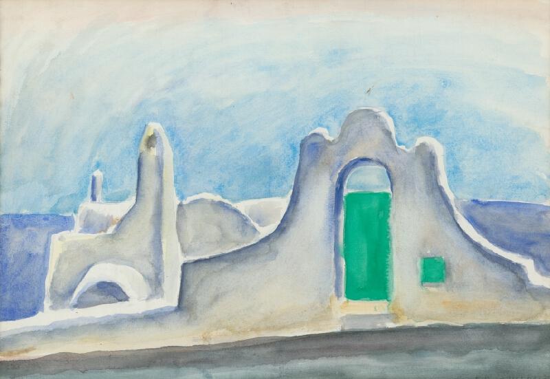 Ernest Zmeták - Biele domy v Amalfi I.