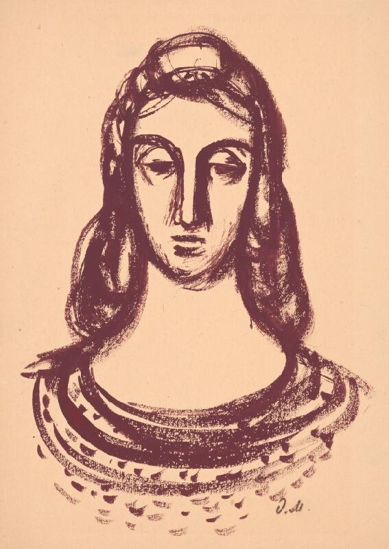 Dezider Milly - Portrét ženy